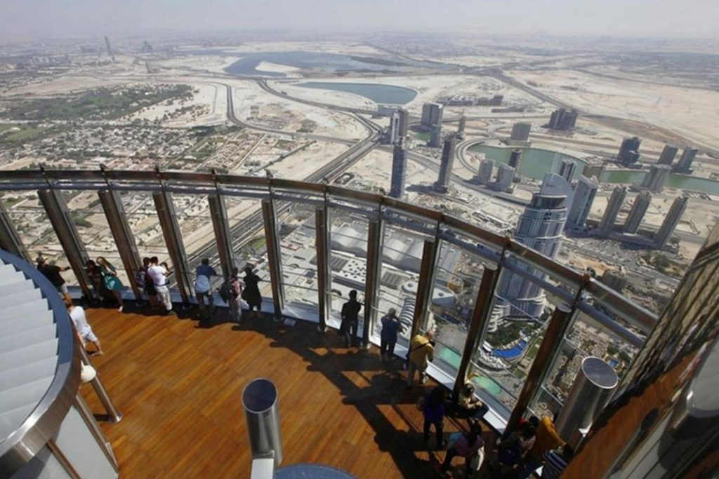Tallest tower Burj Khalifa visit At the